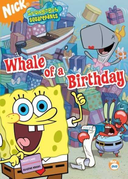 Bestselling Movies (2006) - Spongebob Squarepants - Whale of a Birthday by Sam Henderson