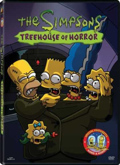 Bestselling Movies (2006) - The Simpsons - Treehouse of Horror by Neil Affleck