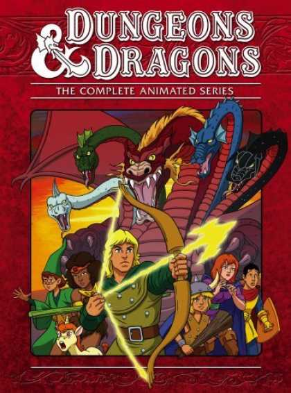 Bestselling Movies (2006) - Dungeons & Dragons: Complete Series (5pc) (Coll)