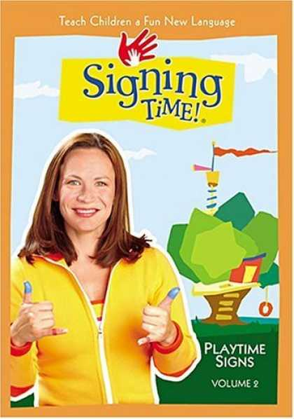 Bestselling Movies (2006) - Signing Time! Volume 2: Playtime Signs by Emilie de Azevedo-Brown/ Jon Pierre Fr