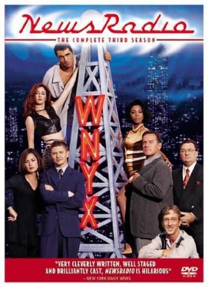 Bestselling Movies (2006) - NewsRadio - The Complete Third Season by James Burrows (II)