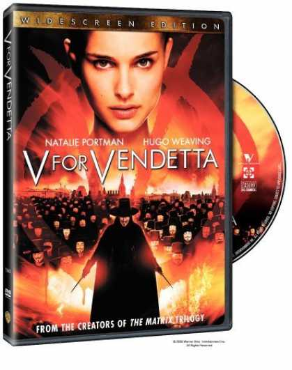 Bestselling Movies (2006) - V for Vendetta (Widescreen Edition) by James McTeigue