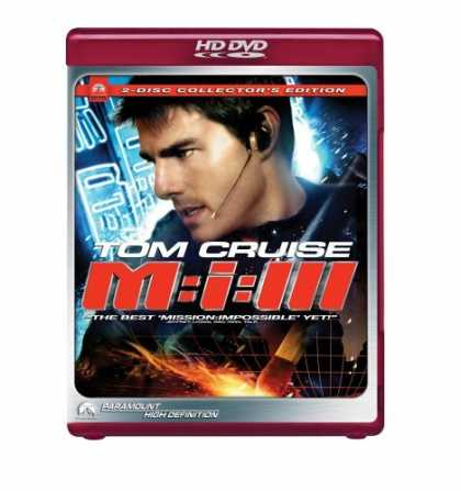 Bestselling Movies (2006) - Mission - Impossible III (Two-Disc Special Collector's Edition) [HD DVD]