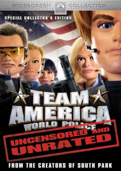 Bestselling Movies (2006) - Team America - World Police (Uncensored and Unrated Special Collector's Edition)