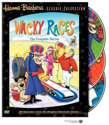 Bestselling Movies (2006) - Wacky Races - The Complete Series by William Hanna