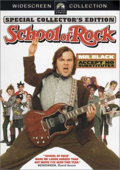 Bestselling Movies (2006) - School of Rock (Widescreen Edition) by Richard Linklater