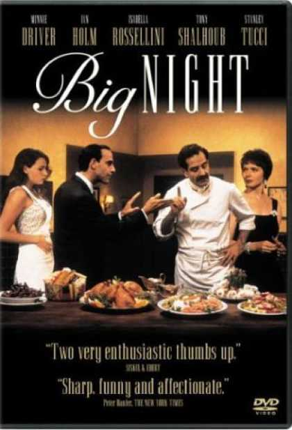 Bestselling Movies (2006) - Big Night by Campbell Scott