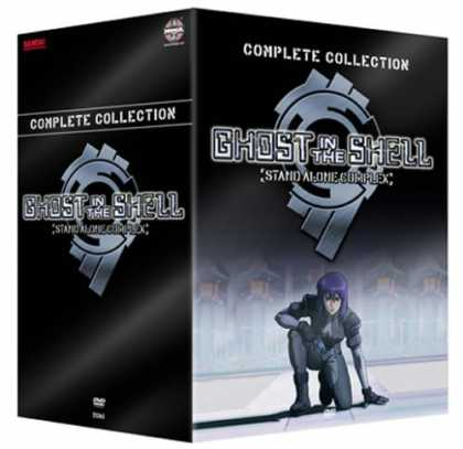Bestselling Movies (2006) - Ghost in the Shell SAC Complete 1st Season Box Set by Kenji Kamiyama