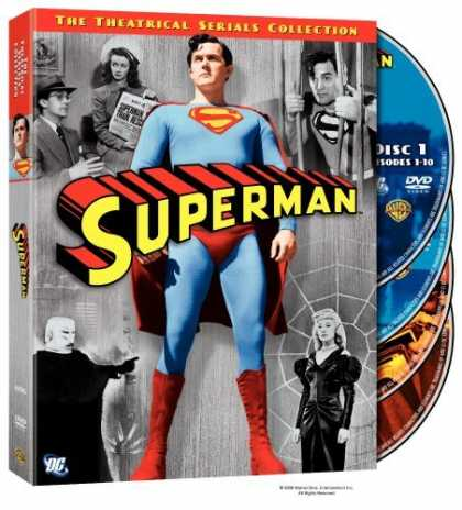 Bestselling Movies (2006) - Superman - The 1948 & 1950 Theatrical Serials Collection by Spencer Gordon Benne