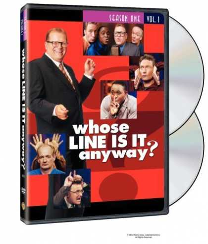 Bestselling Movies (2006) - Whose Line Is It Anyway? - Season 1, Vol. 1 (Censored) by Arthur Forrest