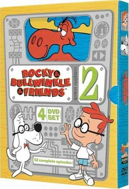 Bestselling Movies (2006) - Rocky & Bullwinkle & Friends - The Complete Second Season by Jim Hiltz