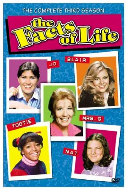 Bestselling Movies (2006) - The Facts of Life - The Complete Third Season by Valentine Mayer