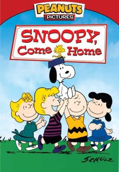 Bestselling Movies (2006) - Snoopy, Come Home