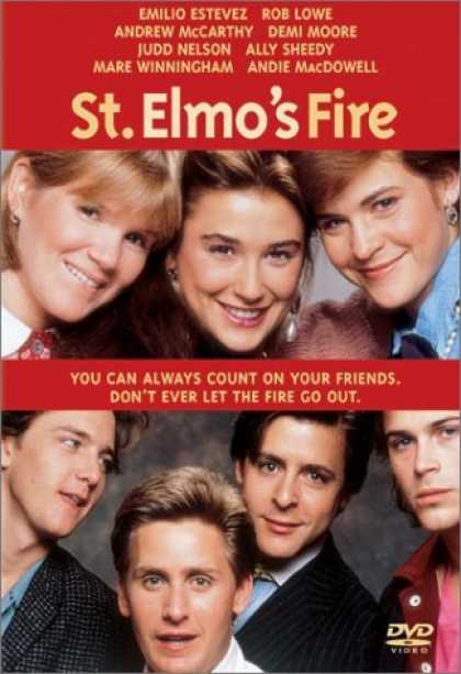 Bestselling Movies (2006) - St. Elmo's Fire by Joel Schumacher