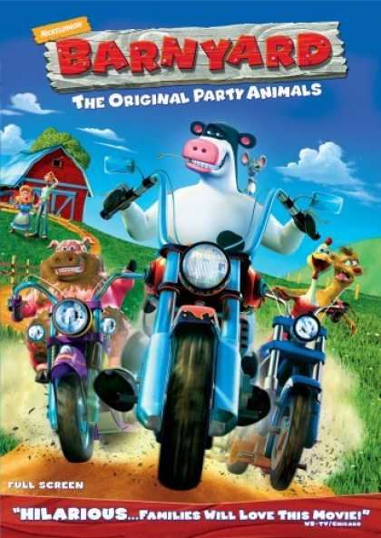 Bestselling Movies (2006) - Barnyard - The Original Party Animals (Full Screen Edition)