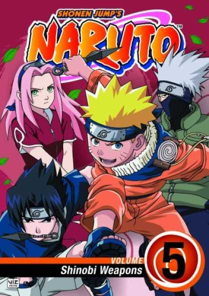 Bestselling Movies (2006) - Naruto, Vol. 5 - Shinobi Weapons