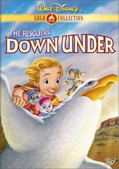 Bestselling Movies (2006) - The Rescuers Down Under (Disney Gold Classic Collection) by Mike Gabriel