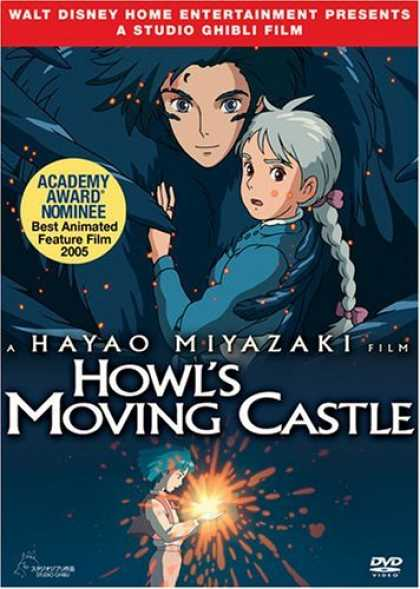 Bestselling Movies (2006) - Howl's Moving Castle by Hayao Miyazaki