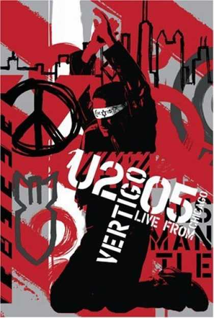 Bestselling Movies (2006) - U2 - Vertigo 2005 - Live From Chicago by Erica Forstadt