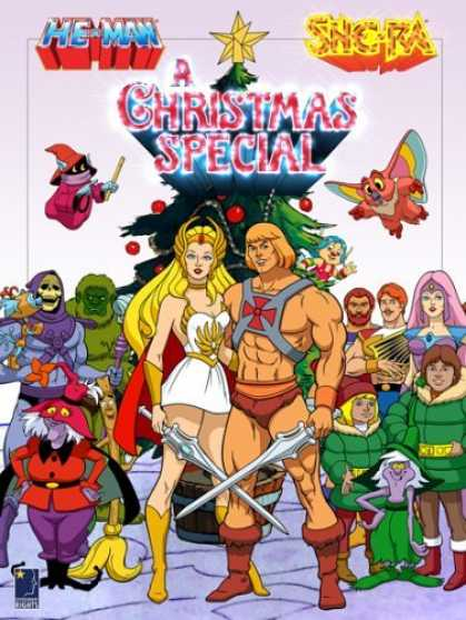 Bestselling Movies (2006) - He-Man & She-Ra - A Christmas Special by Bill Reed