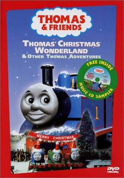 Bestselling Movies (2006) - Thomas the Tank Engine and Friends - Thomas' Christmas Wonderland (With Bonus CD