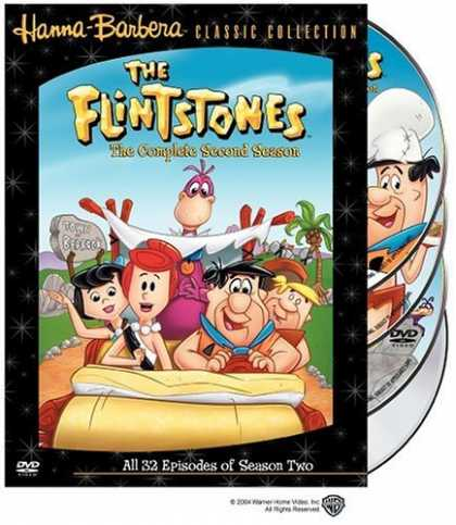 Bestselling Movies (2006) - The Flintstones - The Complete Second Season by Charles A. Nichols