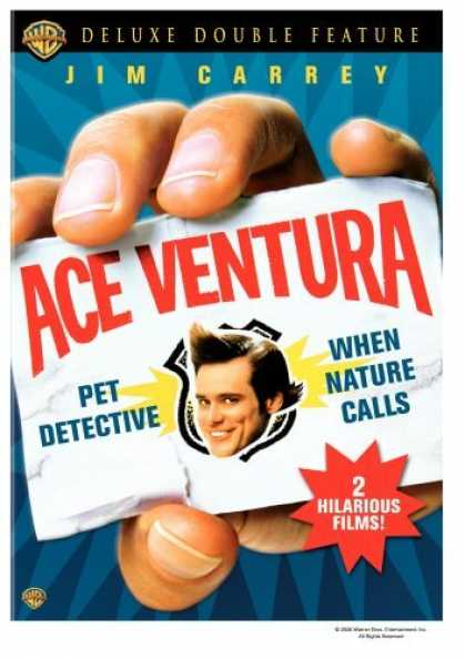 Bestselling Movies (2006) - Ace Ventura Deluxe Double Feature (Pet Detective / When Nature Calls) by Tom Sha