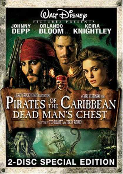 Bestselling Movies (2006) - Pirates of the Caribbean - Dead Man's Chest (Two-Disc Special Edition)