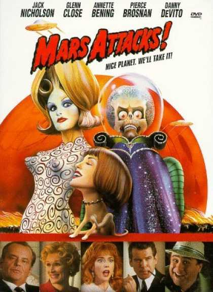 Bestselling Movies (2006) - Mars Attacks! by Tim Burton