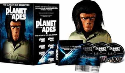Bestselling Movies (2006) - Planet of the Apes - The Ultimate DVD Collection - With Ape Head Packaging by Ke