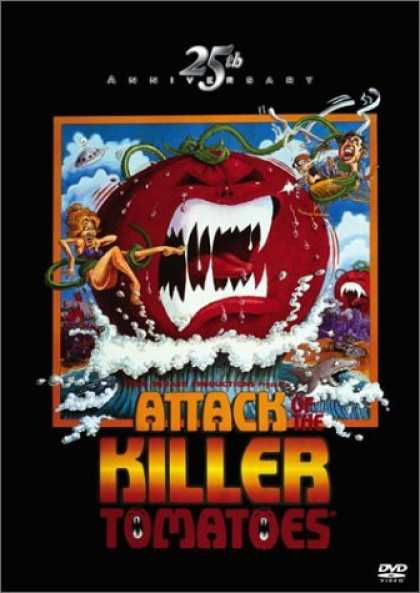 Bestselling Movies (2006) - Attack of the Killer Tomatoes - 25th Anniversary Edition