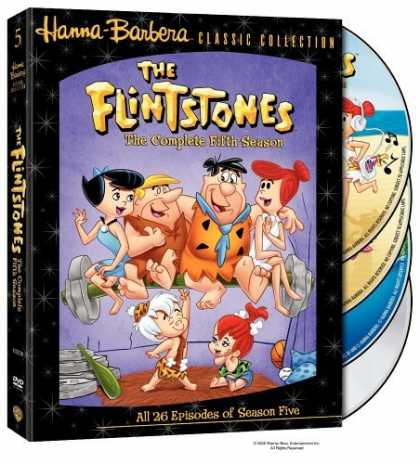 Bestselling Movies (2006) - The Flintstones - The Complete Fifth Season by Charles A. Nichols