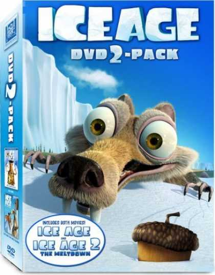 Bestselling Movies (2006) - Ice Age / Ice Age 2: The Meltdown - (DVD 2-Pack) - (Full Screen Edition)