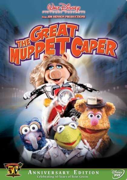 Bestselling Movies (2006) - The Great Muppet Caper - Kermit's 50th Anniversary Edition