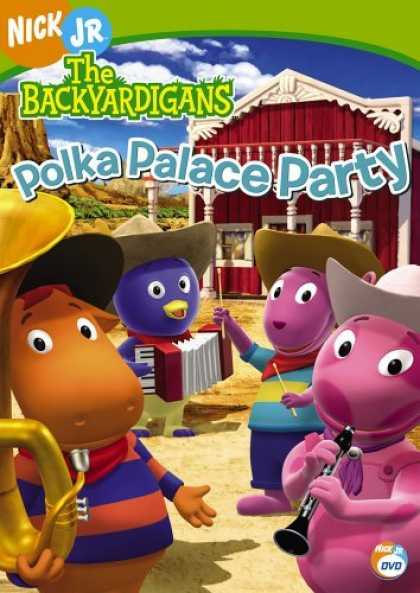 Bestselling Movies (2006) - Backyardigans - Polka Palace Party by Dave Palmer (III)
