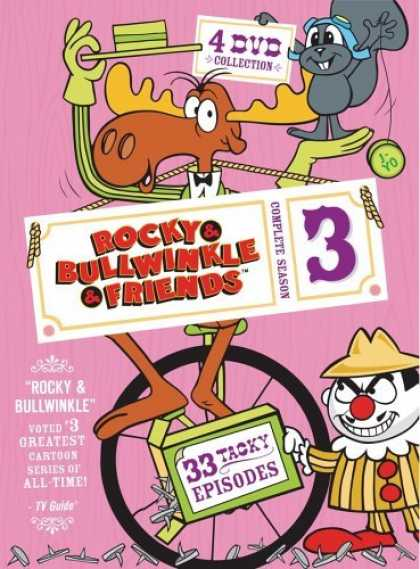 Bestselling Movies (2006) - Rocky & Bullwinkle & Friends - The Complete Third Season by Jim Hiltz