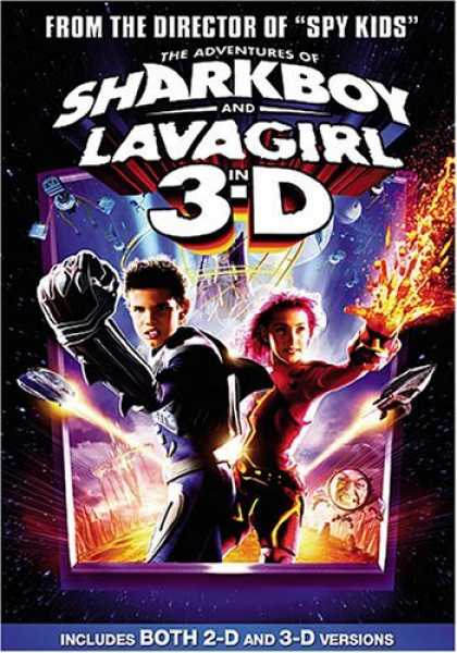 Bestselling Movies (2006) - The Adventures of Sharkboy and Lavagirl in 3-D by Robert Rodriguez