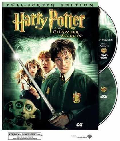 Bestselling Movies (2006) - Harry Potter and the Chamber of Secrets (Full Screen Edition) (Harry Potter 2) b