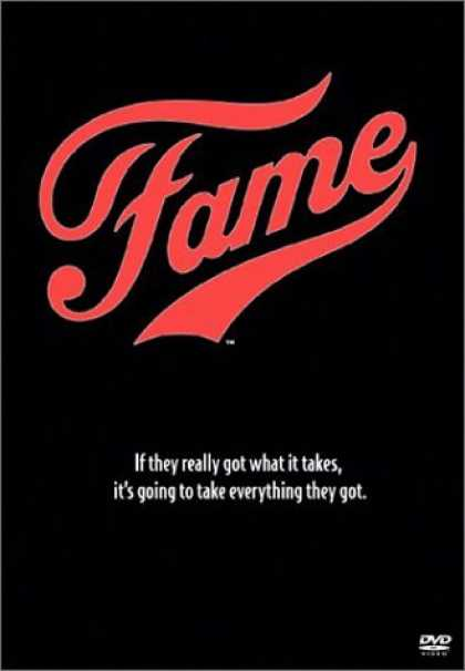 Bestselling Movies (2006) - Fame by Alan Parker
