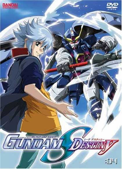 Bestselling Movies (2006) - Mobile Suit Gundam Seed Destiny, Vol. 4 by Mitsuo Fukuda