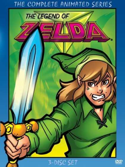 Bestselling Movies (2006) - Legend of Zelda: Complete Animated Series by Eiji Aonuma