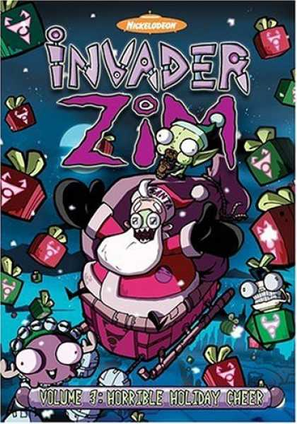 Bestselling Movies (2006) - Invader ZIM - Horrible Holiday Cheer (Vol. 3) by Steve Ressel