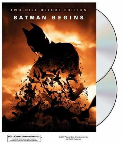 Bestselling Movies (2006) - Batman Begins (Two-Disc Deluxe Edition) by Christopher Nolan