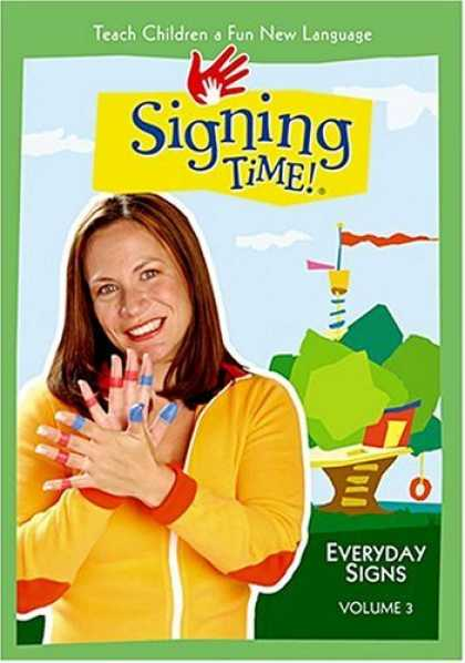 Bestselling Movies (2006) - Signing Time! Volume 3: Everyday Signs by Emilie de Azevedo Brown/ Jon Pierre Fr