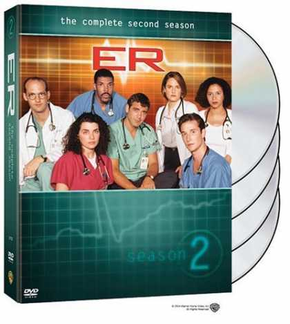 Bestselling Movies (2006) - ER - The Complete Second Season by Brett Fallis