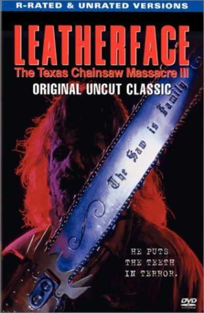 Bestselling Movies (2006) - Leatherface - The Texas Chainsaw Massacre III by Jeff Burr