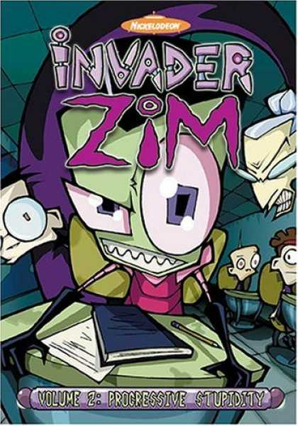 Bestselling Movies (2006) - Invader ZIM - Progressive Stupidity (Vol. 2) by Steve Ressel