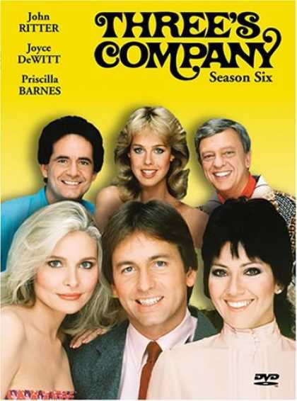 Bestselling Movies (2006) - Three's Company - Season Six by Bernard West