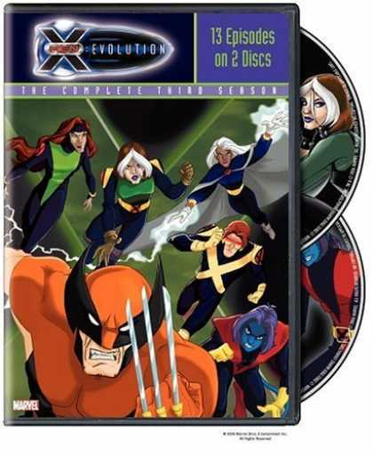 Bestselling Movies (2006) - X-Men Evolution - The Complete Third Season by Steven E. Gordon