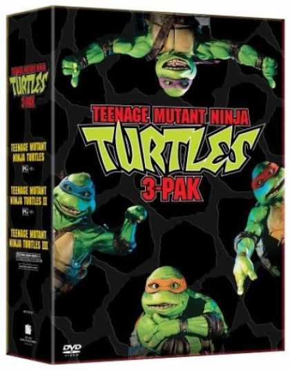 Bestselling Movies (2006) - Teenage Mutant Ninja Turtles (3-Pak DVD Set)
